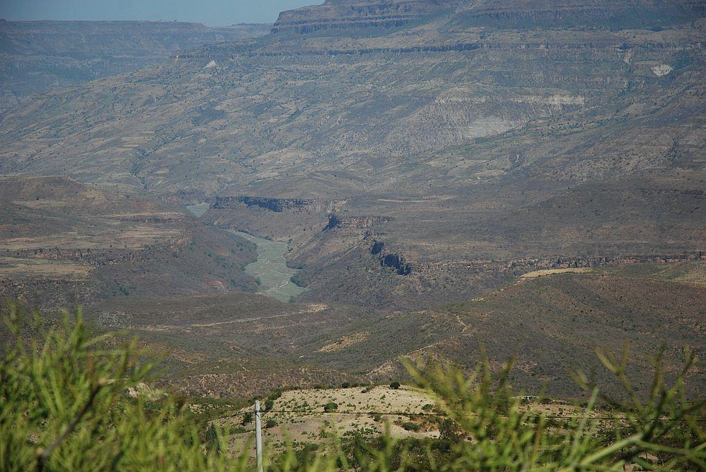 Kanion Nilu Blekitnego