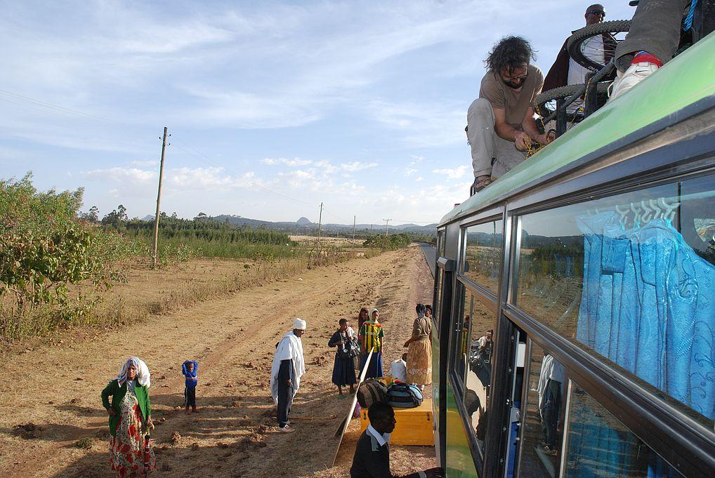 Autobusem do Bahir Dar