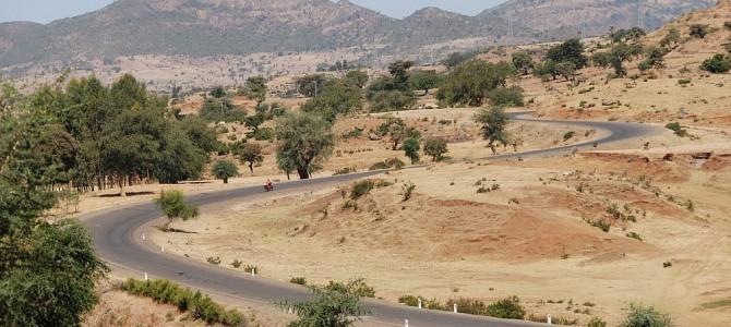 Rowerem z Bahir Dar wzdłuż jeziora Tana