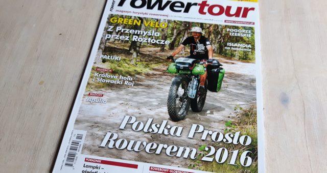 Pierwszy reportaż z wyprawy – Rowertour nr 10'2016
