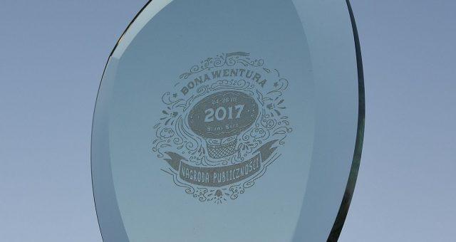 Nagroda publiczności na festiwalu Bonawentura