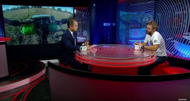 Wywiad dla telewizji Echo24