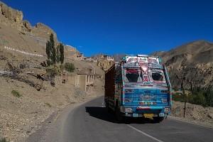 Indie, Kaszmir, klasztor w Lamayru